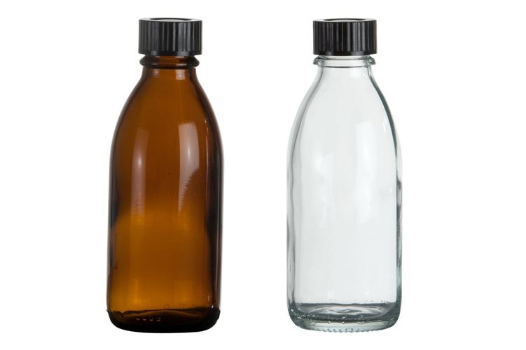 Enghalsglasflaschen