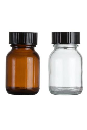 Weithalsglasflaschen