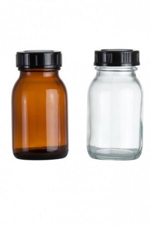 Weithalsglasflasche 125ml