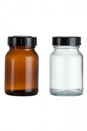 Weithalsglasflasche 250ml