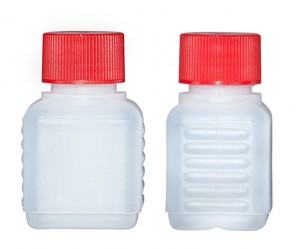 Kunststoffvierkantflasche D50