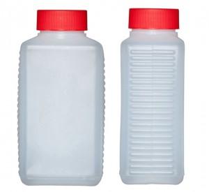 Kunststoffvierkantflasche H400