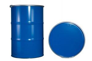 Deckelfass containergerecht für Feststoffe (Stahlblechdeckelfässer)