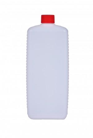 Kunststoffvierkantflasche E1000