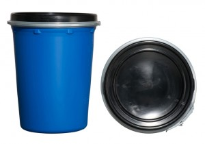 Kunststoffdeckelfass 50l (Kunststoffdeckelfässer)