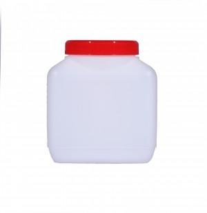 Kunststoffvierkantflasche M1000