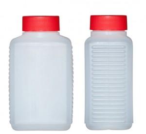 Kunststoffvierkantflasche H350