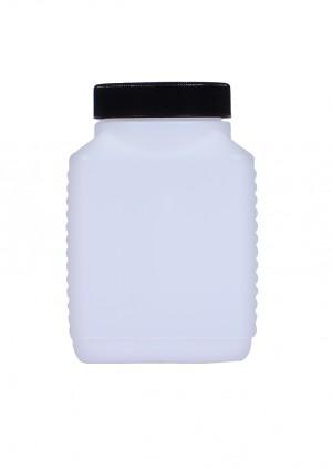 Kunststoffvierkantflasche E500