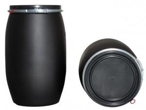 Kunststoffdeckelfass 120l (Kunststoffdeckelfässer)