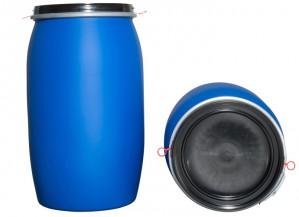 Kunststoffdeckelfass 220l (Kunststoffdeckelfässer)