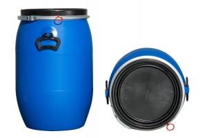 Kunststoffdeckelfass 60l (Kunststoffdeckelfässer)