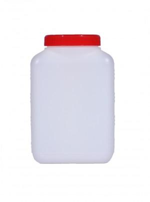 Kunststoffvierkantflasche M1200