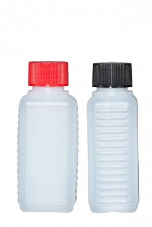 Kunststoffvierkantflasche D100