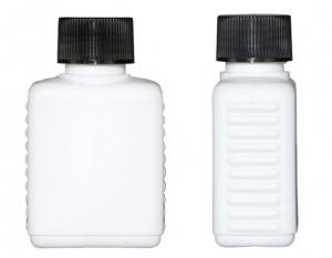 Kunststoffvierkantflasche F75