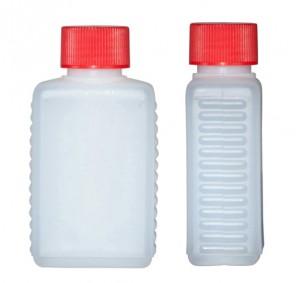 Kunststoffvierkantflasche F100