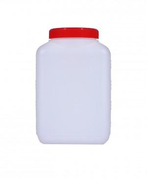 Kunststoffvierkantflasche M1500