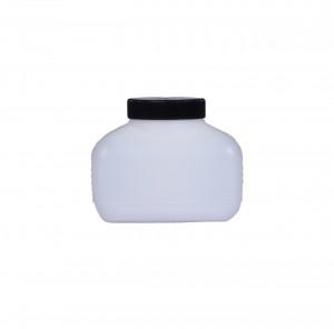Kunststoffvierkantflasche M500