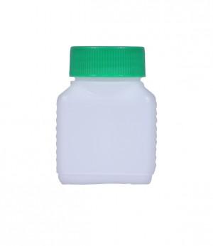 Kunststoffvierkantflasche V100