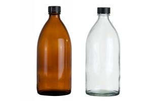 Enghalsglasflasche 500ml