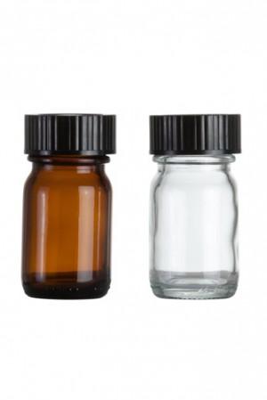 Weithalsglasflasche 30ml