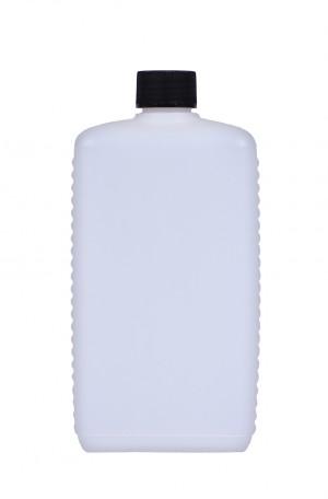 Kunststoffvierkantflasche E750