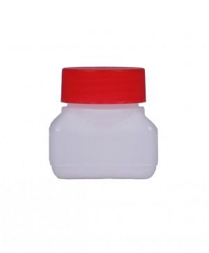 Kunststoffvierkantflasche V50